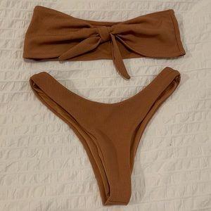 2/$10 Bandeau Bikini Set